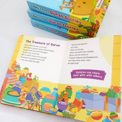 Goodword Baby's First Quran Stories Baby Board Book