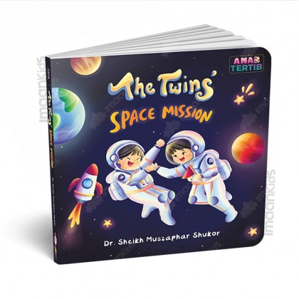 The Twins Space Mission Board Book | Dr Sheikh Muszaphar