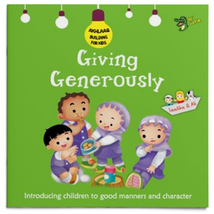 Akhlaaq Building Series - Giving Generously
