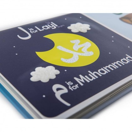 Learning Roots My Touch and Feel Alif Ba Taa Board Book
