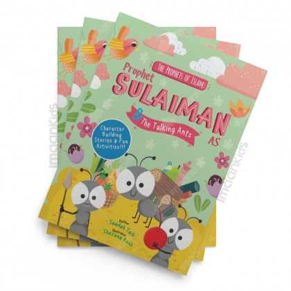 Prophet Sulaiman and the Talking Ants Activity Book