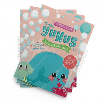 Prophet Yunus and the Whale Activity Book